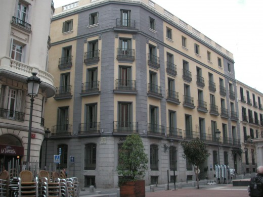 The Radisson Blu hotel in Madrid