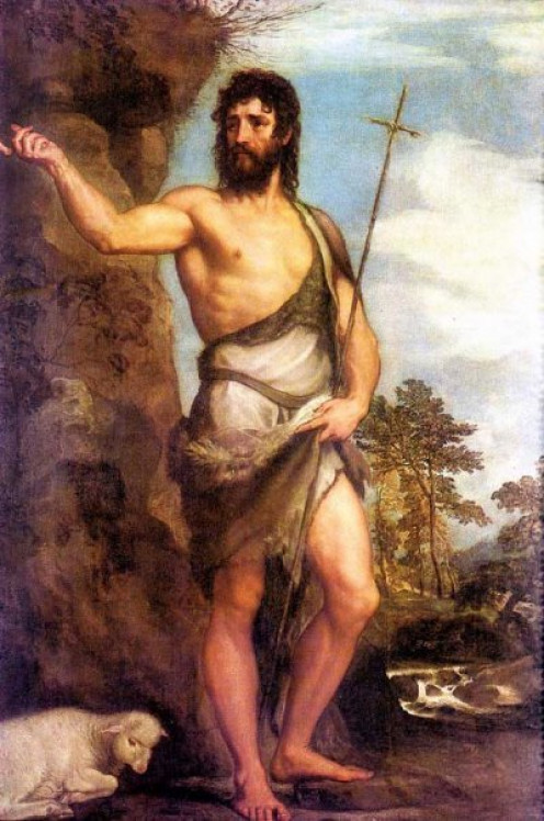 John the Baptist, Titian (c1487-1576)