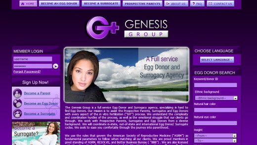 The first step in becoming an egg donor is to apply to an agency.
