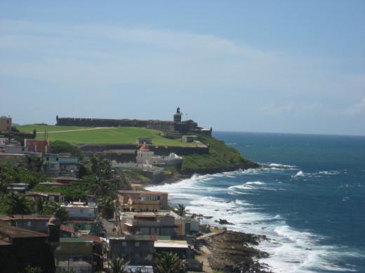 Beautiful waters of San Juan
