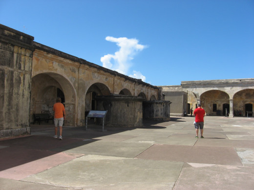Inside the Fort