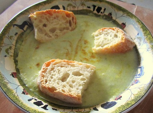 Cream of celery soup is a great winter meal or lunch choice but it's great any time of year.