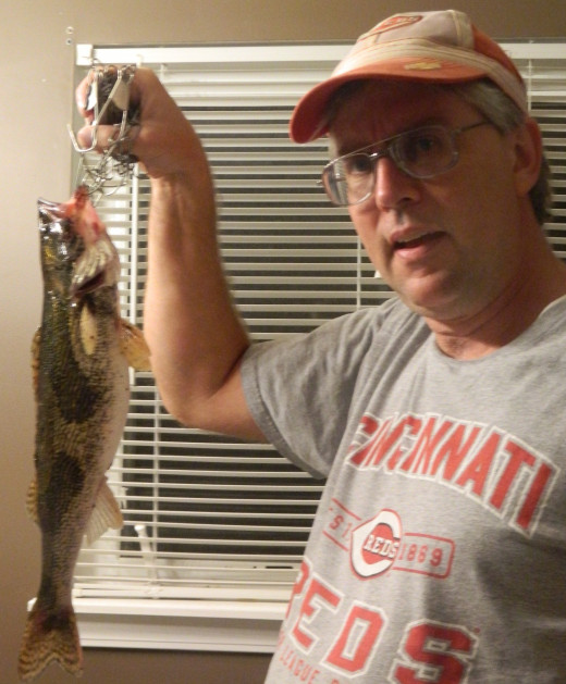 This 18-inch sauger caught on December 3 went from the Ohio River to the kitchen.