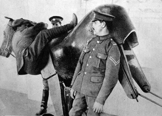 WWI horse simulator