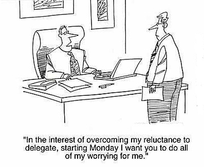 Effective delegation is a key management skill...