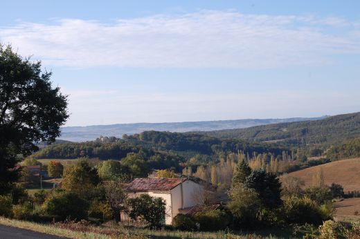 Somewhere between Puylaurens and Graulhet, south of Gaillac