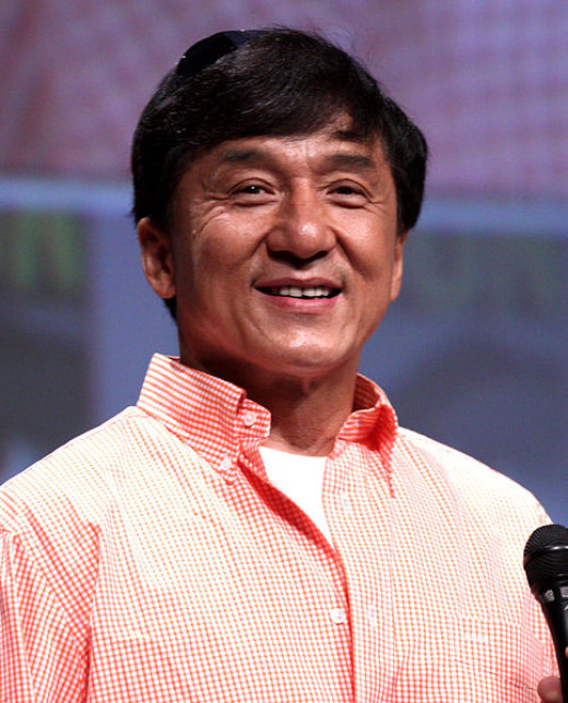 Jackie Chan was photographed by Gage Skidmore at the Comic-Con in San Diego, California on July 12, 2012.