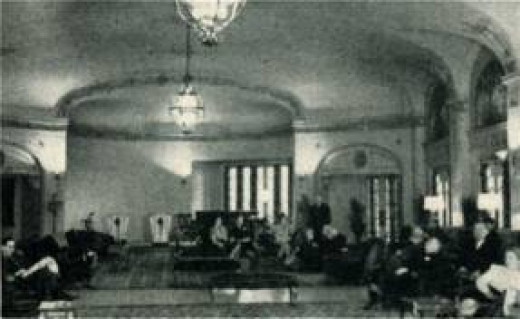 Old Time Picture of Lobby