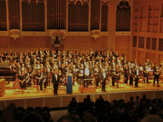 """The University of Southern Maine Chorale and Concert Band Perform """"Carmina Burana"""""""