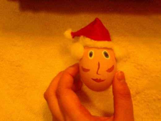 Mrs. Claus Egg