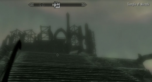 Skyrim Get to Temple of Miraak