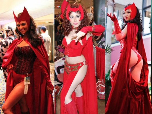 Scarlet Witch Cosplay Costumes