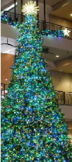 Do you decorate your Christmas tree with all white lights or with multi-colored lights?