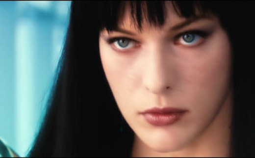 """Mila Jovovich, best know for the """"Resident Evil"""" series"""