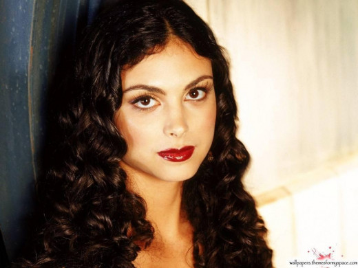 "Morena Baccarin of ""Homeland"""