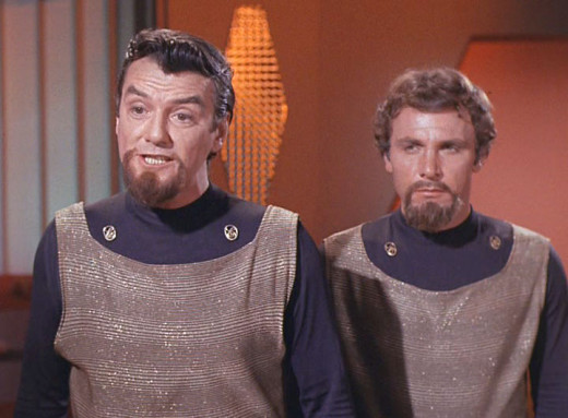 Yes, believe it or not, this is what Klingons used to look like on the original series.