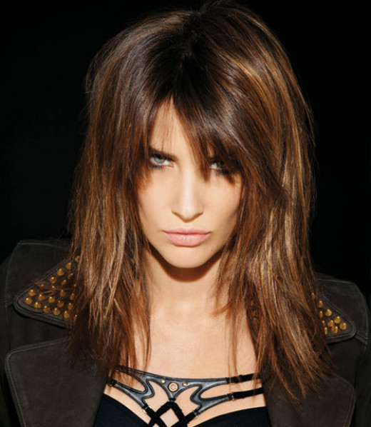 Cobie Smulders pic No. 2.  Published here to show the wide contrast that makeup, lighting and hair can do for an actress.