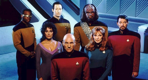 Star Trek:  The Next Generation Crew