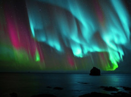 Impressive in book-less Biblical times. Today auroras rarely appear over the Middle East. It would take huge space weather event to do so and in the past 150 years only 2 neared that strength.