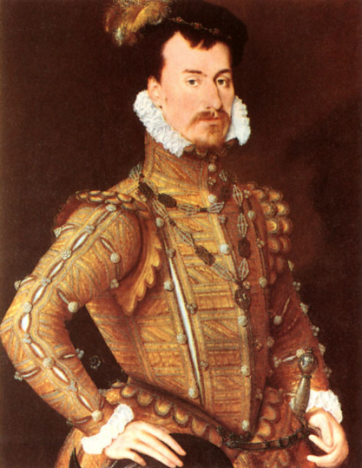 Robert Dudley, Earl of Leicester. It was believed he was the only man Queen Elizabeth 1 ever loved.