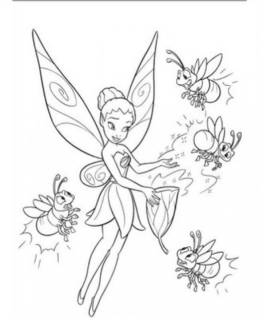 printable disney fairies coloring pages me