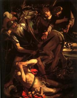 The Conversion of St Paul, Caravaggio (1573-1610)