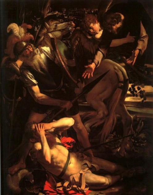 The Conversion of St Paul, Caravaggio (1573-1610)