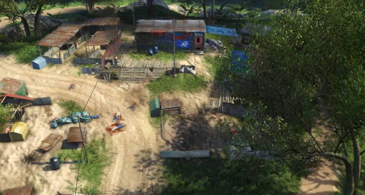 Farcry 3 Secure the First Outpost
