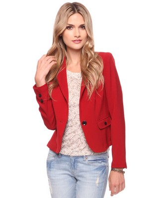 Forever 21 Button Trim Blazer.