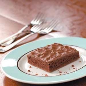 Texas Chocolate Cherry Sheet Cake