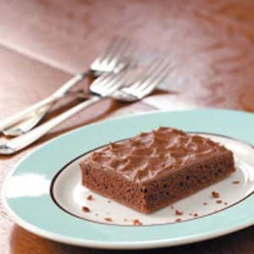 Texas Chocolate Cherry Sheet Cake