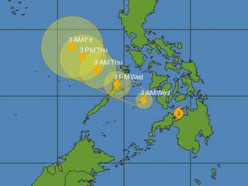 Why would the mainstream media not report the four large earthquakes the Day of the typhoon Bopha?