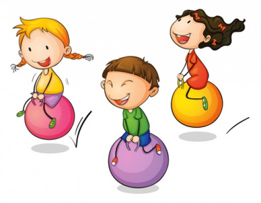 Toddlers love to bounce, climb, run and jump.