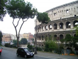 Before we finished our European holiday, my father was experiencing stomach pain. The doctor in Rome wanted to put him in hospital for tests....