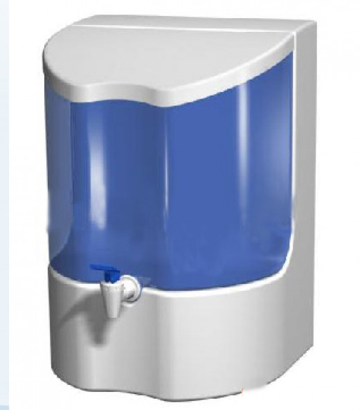 This is how a water purifier commonly looks like though there may be different designs.
