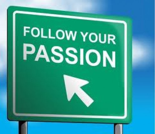 If you follow your passion you will get there. Never give up on your dreams and goals and remember hard work  pays off eventually.
