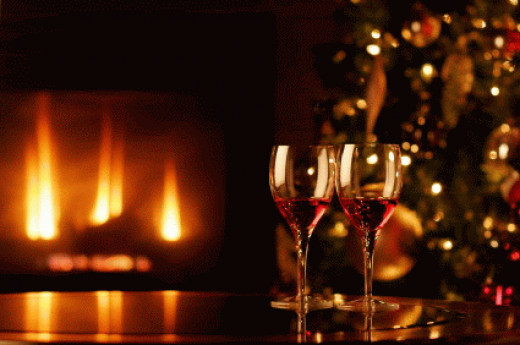 Your own wine is perfect for the Christmas festivities