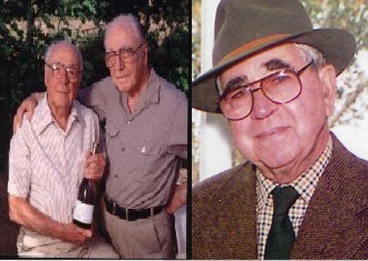 Ernest & Julio (Left), Joseph (Right)