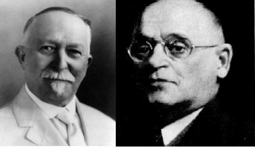 John (left) and William (right) Kellogg