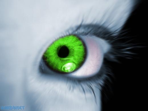 Envy's green gaze
