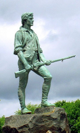 The Minuteman - the Symbol of independence