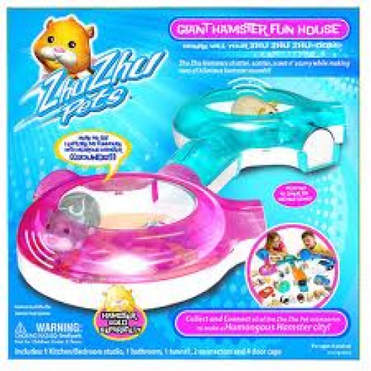 Zhu Zhu Pets Funhouse - Hot Toys for Christmas 2012