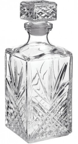 Antique Glass Decanters for Wine and Liquior
