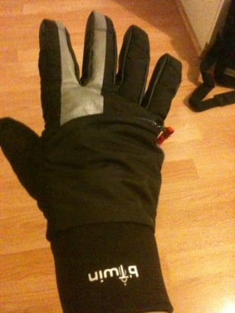 A set of waterproof cycling gloves like these from Decathlon's BTwin line are great for warm, dry hands for winter riding.