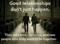 What trust means in a relationship