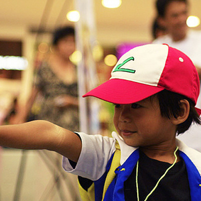 A cute Ash Ketchum Cosplay