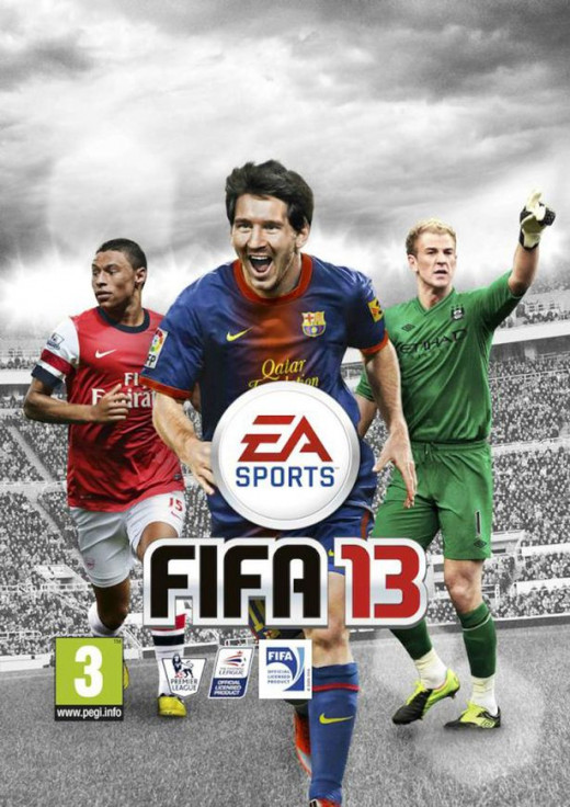 Fifa 13 Game Cover