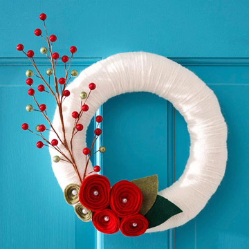 Christmas Wreath, photo courtesy: Better Homes and Gardens