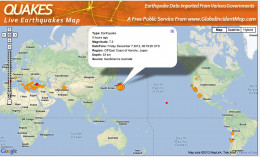 This earthquake followed the recent Typhoon Bopha and earthquakes in the Philippines.
