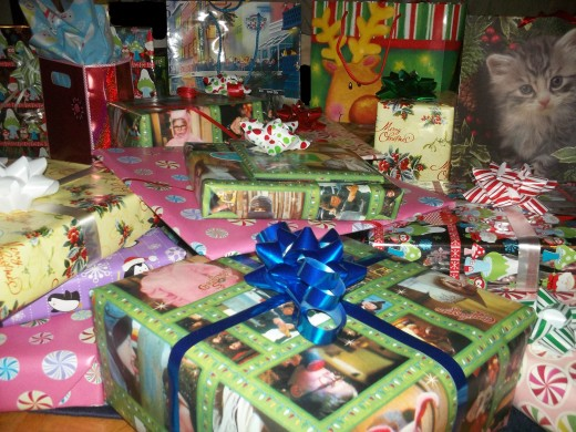 Wrapping presents - a true art form!